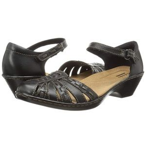 Clarks Collection Black Wendy Estate Shoes